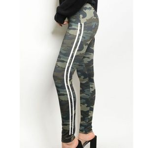 High Waist Fleece Lined Camo Leggings~New ArrivaL